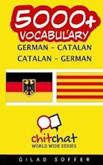5000+ German - Catalan Catalan - German Vocabulary