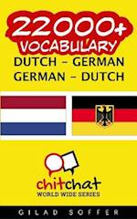 22000+ Dutch - German German - Dutch Vocabulary