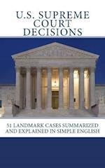 U.S. Supreme Court Decisions