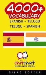 4000+ Spanish - Telugu Telugu - Spanish Vocabulary