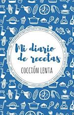 Mi Diario de Recetas de Coccion Lenta af Lovely Recipe Journals