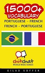 15000+ Portuguese - French French - Portuguese Vocabulary