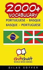 2000+ Portuguese - Basque Basque - Portuguese Vocabulary