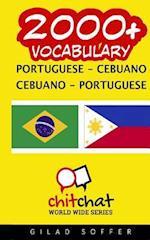 2000+ Portuguese - Cebuano Cebuano - Portuguese Vocabulary