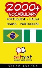 2000+ Portuguese - Hausa Hausa - Portuguese Vocabulary