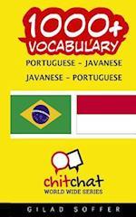 1000+ Portuguese - Javanese Javanese - Portuguese Vocabulary