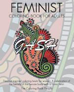 Feminist Coloring Book for Adults