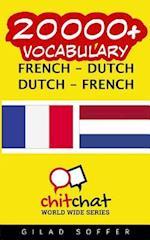 20000+ French - Dutch Dutch - French Vocabulary
