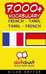 7000+ French - Tamil Tamil - French Vocabulary