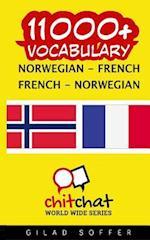 11000+ Norwegian - French French - Norwegian Vocabulary