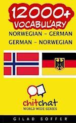 12000+ Norwegian - German German - Norwegian Vocabulary