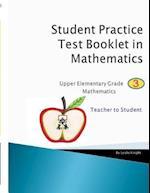 Math Grade 3 - Teacher to Student