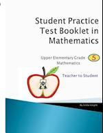 Math Grade 5 - Teacher to Student