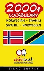 2000+ Norwegian - Swahili Swahili - Norwegian Vocabulary