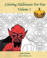 Coloring Halloween for Fun - Volume 1