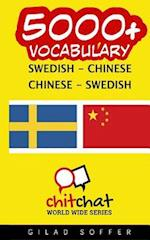 5000+ Swedish - Chinese Chinese - Swedish Vocabulary
