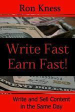 Writer Fast - Earn Fast