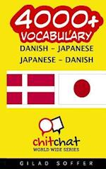 4000+ Danish - Japanese Japanese - Danish Vocabulary af Gilad Soffer