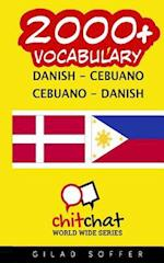 2000+ Danish - Cebuano Cebuano - Danish Vocabulary