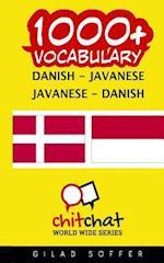 1000+ Danish - Javanese Javanese - Danish Vocabulary
