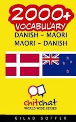 2000+ Danish - Maori Maori - Danish Vocabulary