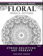 Floral Mandala Patterns Volume 2