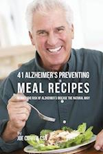 41 Alzheimer's Preventing Meal Recipes af Joe Correa Csn
