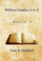 Biblical Studies A to Z, Book 7