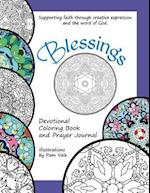 Blessings, Devotional Coloring Book and Guided Prayer Journal