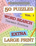Extra Large Print Word Search Puzzles af Puzzles and More