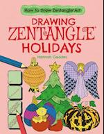 Drawing Zentangle Holidays (How to Draw Zentangle Art)