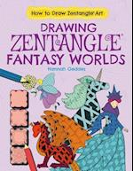 Drawing Zentangle Fantasy Worlds (How to Draw Zentangle Art)