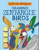 Drawing Zentangle Birds (How to Draw Zentangle Art)