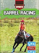 Barrel Racing af Hal Garrison