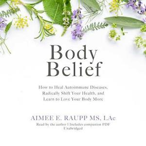 Lydbog, CD Body Belief af Aimee Raupp