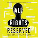 All Rights Reserved af Gregory Scott Katsoulis