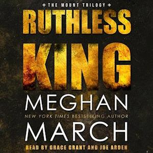 Lydbog, CD Ruthless King af Meghan March