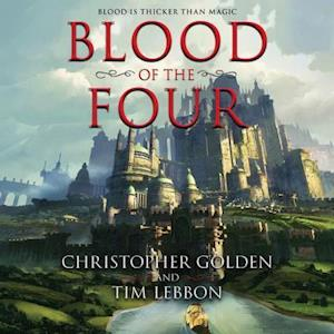 Lydbog, CD Blood of the Four af Christopher Golden
