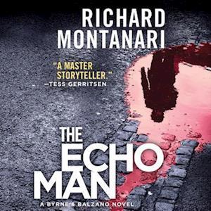 Lydbog, CD The Echo Man af Richard Montanari