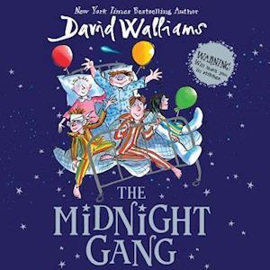 Lydbog, CD The Midnight Gang af David Walliams
