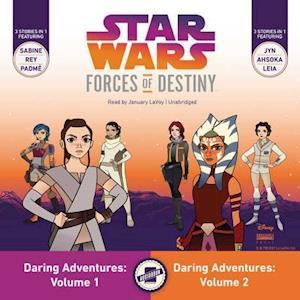 Lydbog, CD Star Wars Forces of Destiny Daring Adventures af Emma Carlson Berne