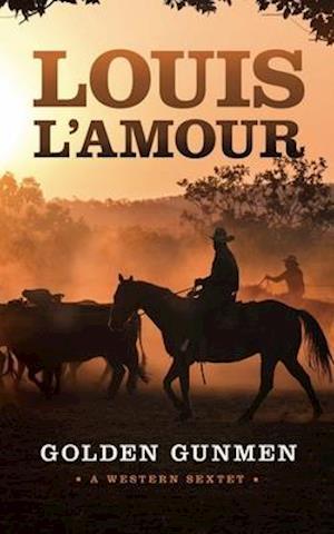 Bog, paperback Golden Gunmen af Louis L'amour