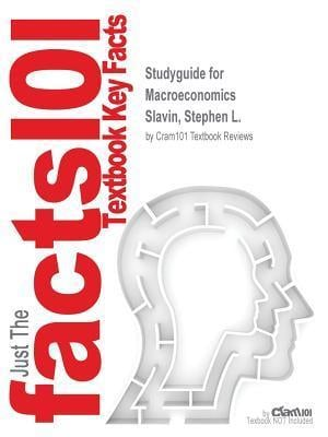 Bog, paperback Studyguide for Macroeconomics by Slavin, Stephen L., ISBN 9780077317409 af Cram101 Textbook Reviews