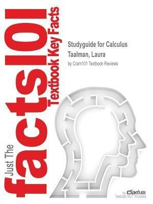 Bog, paperback Studyguide for Calculus by Taalman, Laura, ISBN 9781464143519 af Cram101 Textbook Reviews