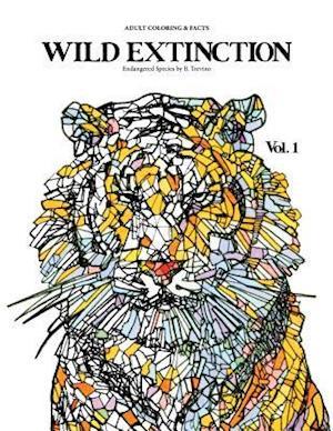 Bog, paperback Wild Extinction Adult Coloring & Facts af Bianca Trevino