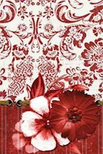 Red Flower Damask