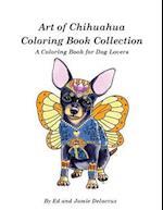 Art of Chihuahua Coloring Book Collection af Ed Delacruz, Jamie Delacruz