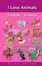 I Love Animals English - Filipino