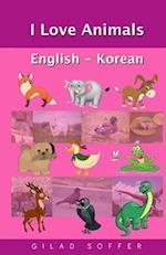 I Love Animals English - Korean