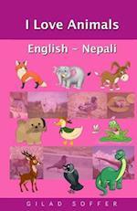 I Love Animals English - Nepali